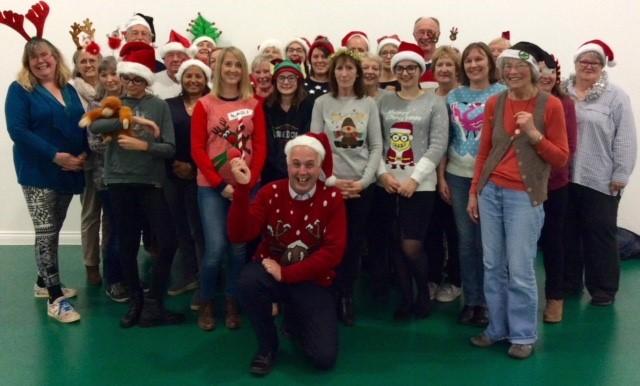 Hailsham Voices at Christmas